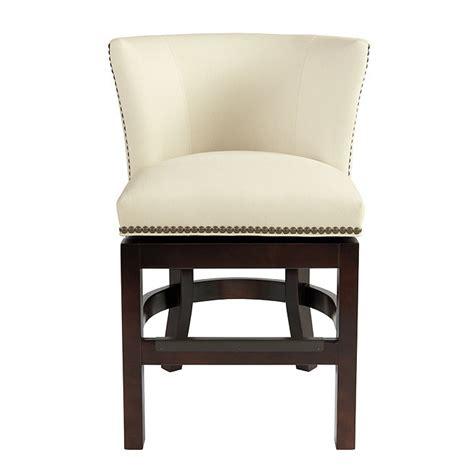 fabric counter stools shelton counter stool with brass nailheads ballard designs 3649