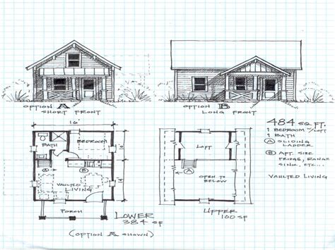 Cabin Floor Plans Loft by 2 Bedroom Cabin With Loft Floor Plans Simple House Plans