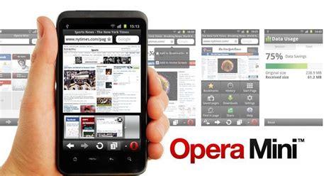 Download the latest version of opera mini.apk file. Opera Mini web browser 7.5 apk, opera mini for Android Phone & tablet - Aplikasi Android Gratis ...