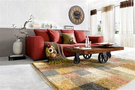 creez votre ambiance chaleureuse avec  tapis salon ethno