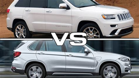 bmw jeep bmw x5 vs jeep srt autos post