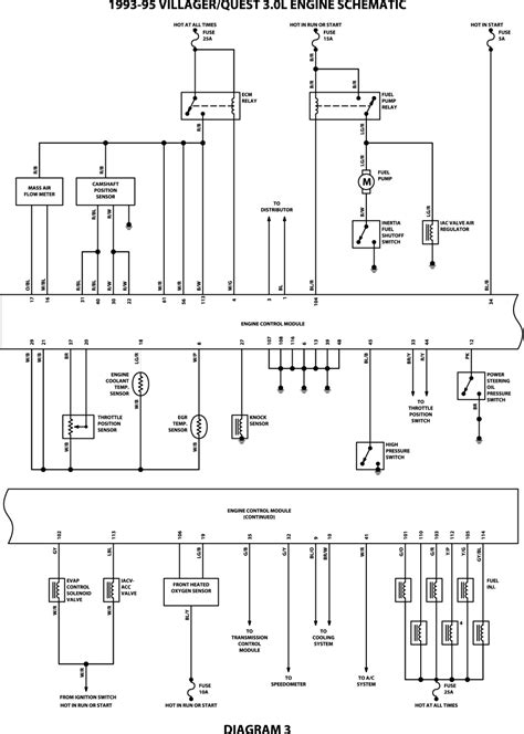 3 5 Engine Wiring Schematic For 2003 Nissan Maxima by 2000 Ford Truck F150 1 2 Ton P U 2wd 5 4l Fi Sohc 8cyl