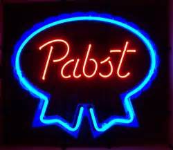 Pabst Neon Sign