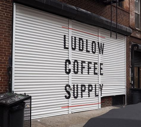 You can work here for a while without feeling. Ludlow Coffee / Barber Supply - Brush & Leaf Inc.
