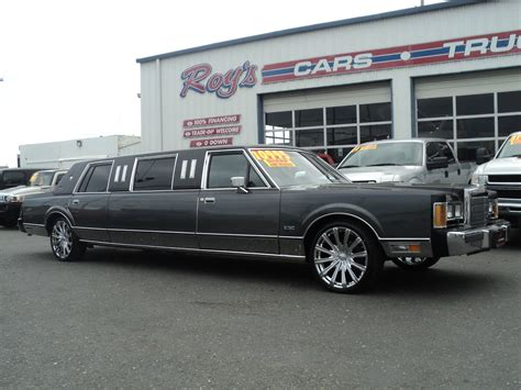 Town Car Limousine by 1989 Lincoln Town Car Limousine