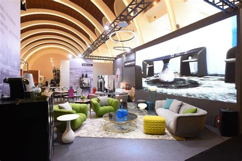 roche bobois stand at design shanghai 2017 e architect