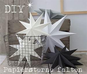 Papiersterne Basteln Anleitung : 10 ideen zu sterne falten auf pinterest origami ~ Lizthompson.info Haus und Dekorationen