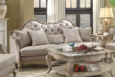 taupe area rugs lichfield beige button tufted sofa loveseat set antique 2676