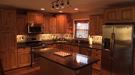 how to install under cabinet lighting in your kitchen youtube