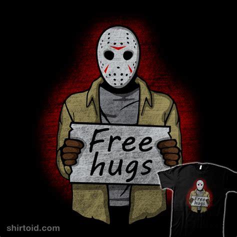 totoro tees free hugs jason voorhees shirtoid