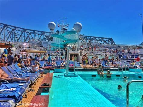 lido deck more inside the carnival triumph port of