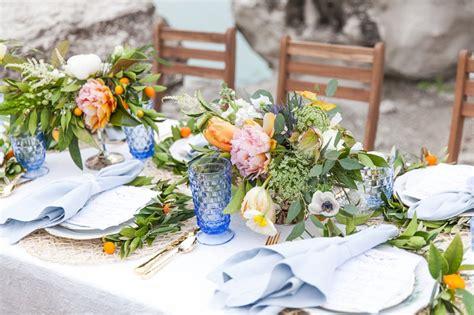 Romantic Mediterranean Inspired Wedding Ideas