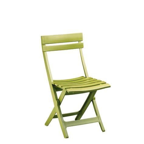 chaise de jardin verte lot 48 chaises pliantes en plastique vert anis miami