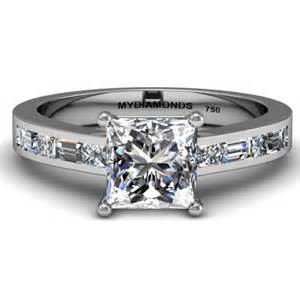 princess wedding rings grazia princess cut engagement ring