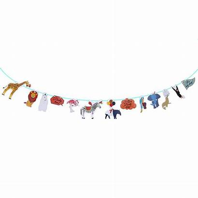 Birthday Hanging Banner Happy Banners Garlands Bunting