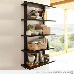15 Decorative Wooden Wall Shelves - Decoration for House