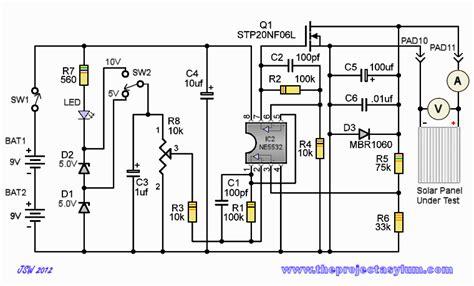 Solar Panel Testing Shunt Schematic Board Layout