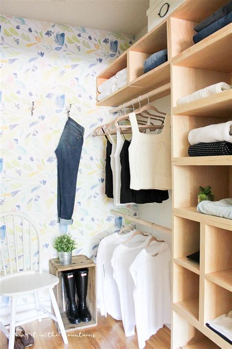 diy master bedroom closet  reveal making