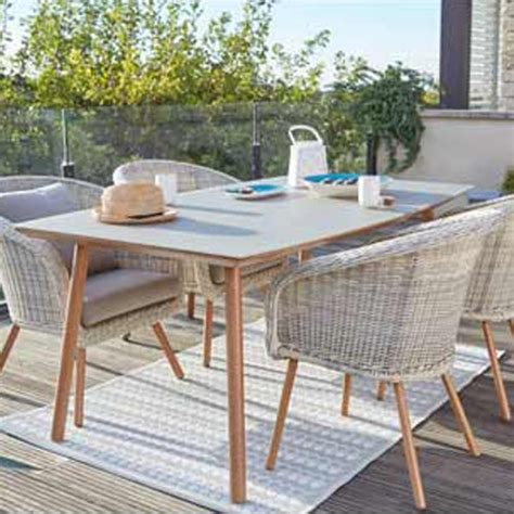 table et chaise b b terrasse et jardin leroy merlin