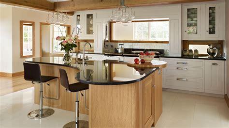 curved kitchen island ideas  modern homes homesfeed