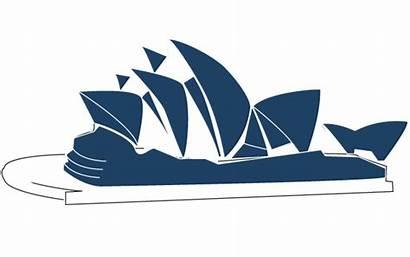 Opera Sydney Vector Line Illustration Clipart Clip