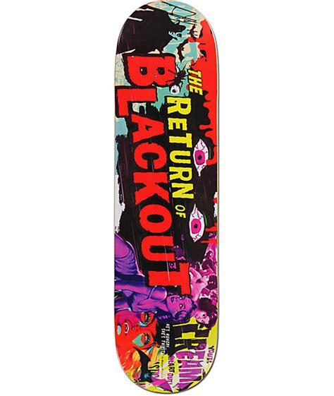 Zumiez Blank Skate Decks by Blackout B 8 5 Quot Skateboard Deck At Zumiez Pdp