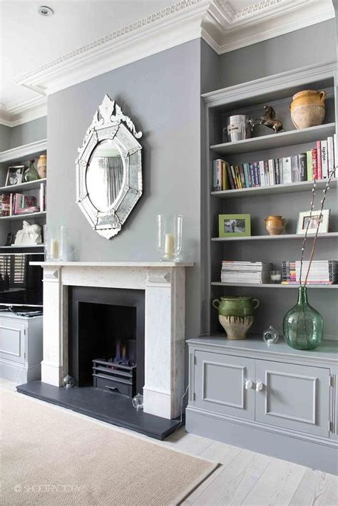 Living Room With Fireplace And Bookshelves by Built In Bookcases With Cupboards Living Room