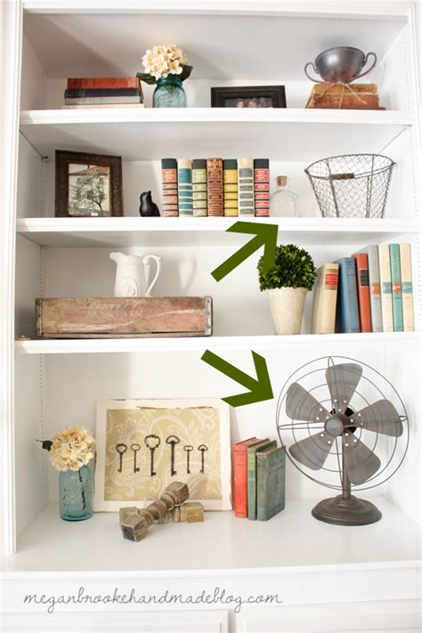 Decorating A Bookcase by How To Decorate Style Bookshelves Megan Handmade