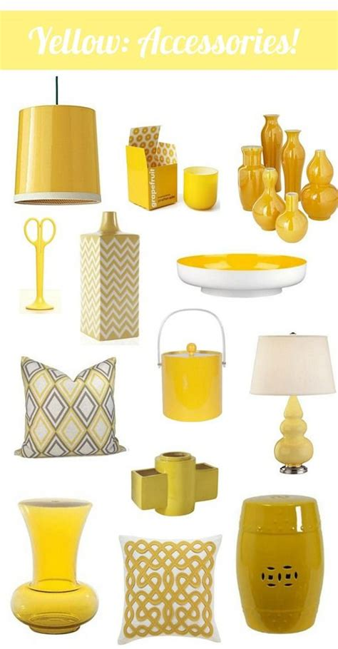 yellow kitchen accessories best 25 yellow decorations ideas on yellow 1211