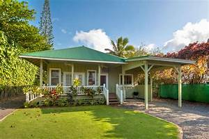Relaxed And Cheerful Hawaiian Style Home Plans HOUSE