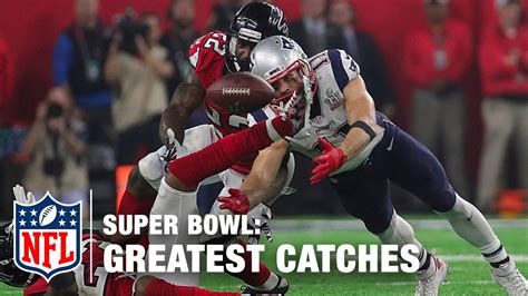 catches  super bowl history nfl highlights youtube