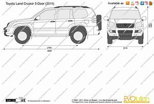 toyota land cruiser 5 door vector drawing With clic toyota land cruiser sale