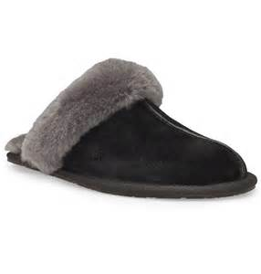 ugg womens house shoes ugg scuffette slippers for in black landau store