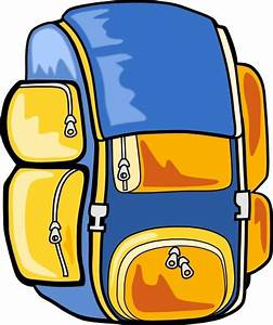 Backpack clip art Free vector in Open office drawing svg ...
