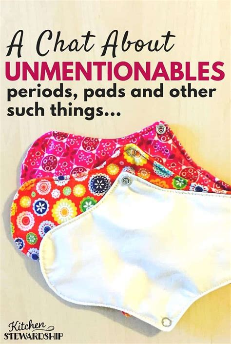 Periods, Panties, & Personal Care A Ks Look At The