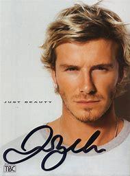 David Beckham Autograph