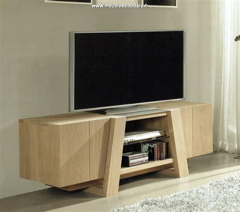 Meuble Tv Chêne Moderne, Meuble Télé Moderne En Bois
