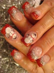 Best cute amazing christmas nail art designs ideas
