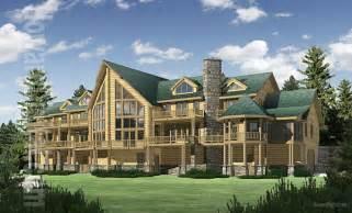 large cabin plans big sky log home plan floor plans gallery of homes