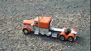 R/C Custom Peterbilt Show Truck - YouTube