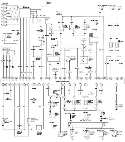 Camaro Speed Vss Wiring Diagram