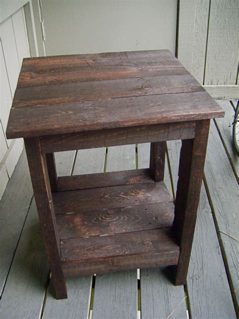 wood side table plans plans for wood pallet coffee table tryed side table