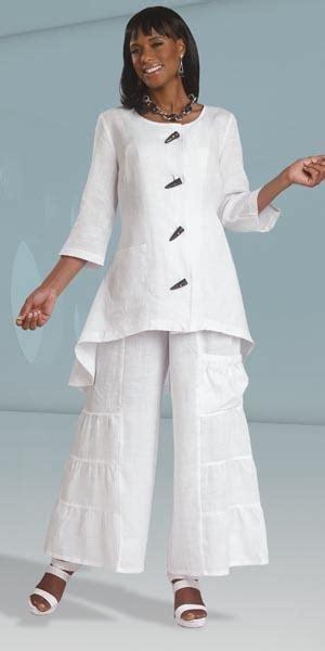 lisa rene  donna vinci  womens pant suit french
