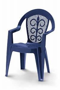 Table Et Chaise En Plastique De Jardin Import Export