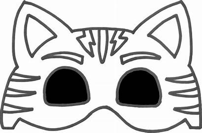 Pj Mask Masks Mascara Catboy Molde Template