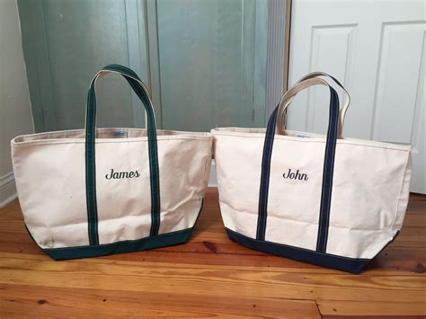 Ll Bean Boat Bag by Lot Of 2 Ll Bean Boat And Tote Large Canvas Tote