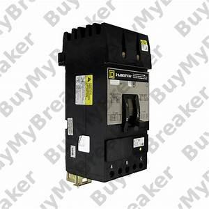 Square D Fi36035 3 Pole 35 Amp 600v Circuit Breaker