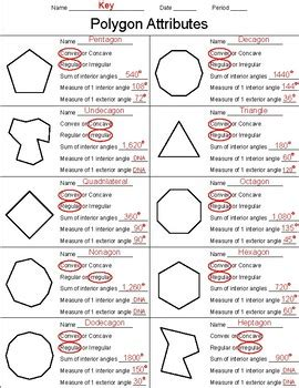 convex and concave polygons worksheet geotwitter
