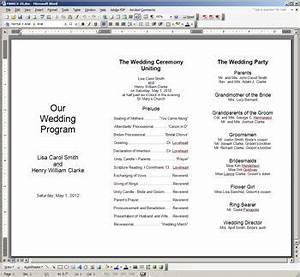 free printable wedding programs templates the template With year end function program template