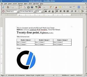 How to open microsoft word documents in linux for Word documents linux